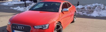Audi RS5 sise-, välipesu , poleerimine , vahatamine