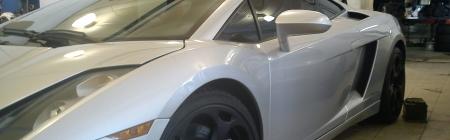 Lamborghini Gallardo kiletatud tagumine ring