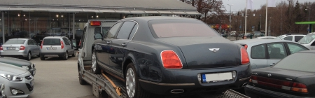 Bentley Flying Spur kiletatud tagumine ring
