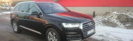 2016 Audi Q7 Sise-, Välipesu Nano vahatamine Kiletatud tagumine ring (Tagamine klaas, tagumised uksed)