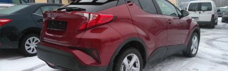 Toyota uus ja noortepärane mudel C-HR. Kiletatud tagumine ring - Tagaklaas 5%, Tagumised uksed 20%