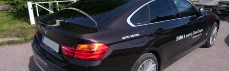 2015 BMW 4-seeria Grand Coupe kiletatud tagumine ring
