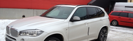2014 BMW X5 kiletatud tagumine ring