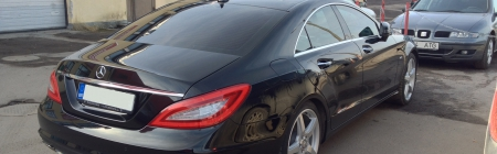 Mercedes-Benz CLS kiletatud tagumine ring