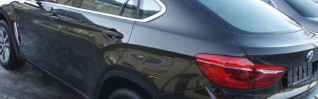 2015 BMW X6 kiletatud tagumine ring