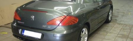 2. Peugeot 307 CC teipimine