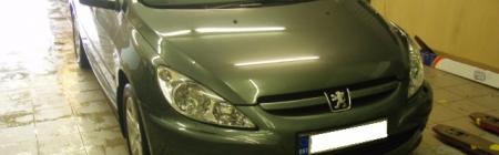 1. Peugeot 307 CC teipimine