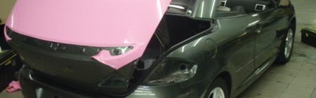 4. Peugeot 307 CC teipimine