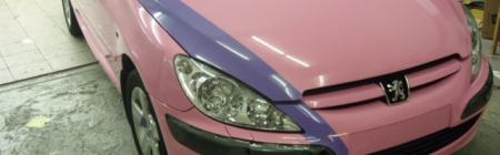 10. Peugeot 307 CC teipimine
